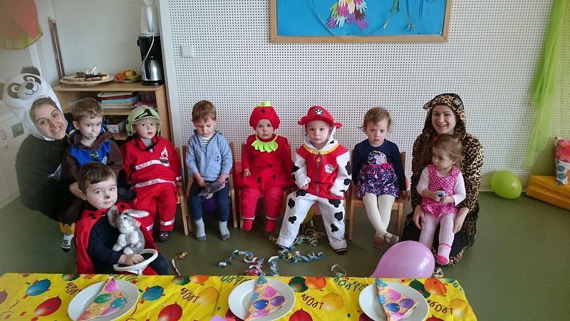 Fasching 2017 Im Kindergarten St Florian Am Inn