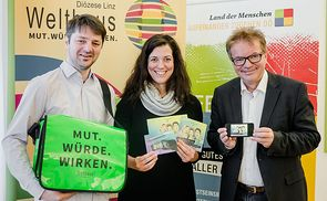 Smart up your Life - v.l.: Martin Stöbich, Claudia Zechmeister, LR Rudi Anschober