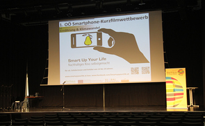 "Finale des Filmwettbewerbs ""Smart up your Life"""