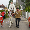 Traditioneller Leonhardiritt in Pettenbach