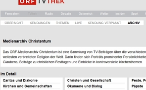 Screenshot religion.orf.at_Medienarchiv Christentum