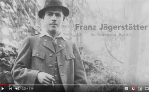 The 'Sheen Center for Thought & Culture' produced a short Youtube video about Franz Jägerstätter.