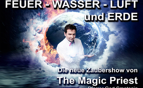 Zaubershow mit the Magic Priest - am Fr, 15. Juni im Pfarrzentrum