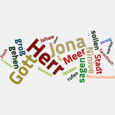 Wordcloud Jona